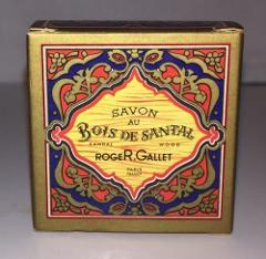 VTG ROGER & GALLET Bois De Santal SANDAL WOOD Travel Soap IN B...