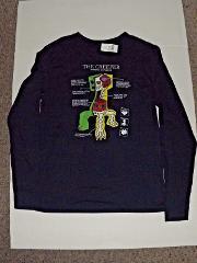 Minecraft The Creeper Long Sleeve T-Shirt NWT Navy Jinx YXL Yo...