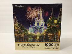 DISNEY PARKS THOMAS KINKADE WALT DISNEY WORLD MAGIC KINGDOM CA...
