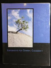Textbook: Experiments for General Chemistry I (Paperback)