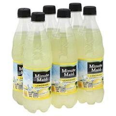 Minute Maid Lemonade 6 Pack 16.9floz Bottles