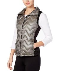 Calvin Klein Performance Down Filled Chevron Quilted Vest Size...