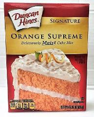 Duncan Hines Signature Orange Supreme Cake Mix 15.25 oz