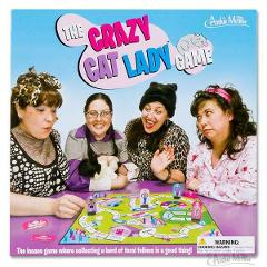 The Crazy Cat Lady Board Game Family Fun for Cat Lover Accoutr...