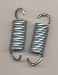 Lot Of 2 Recliner Sofa Mechanism Tension Spring 2 1/4