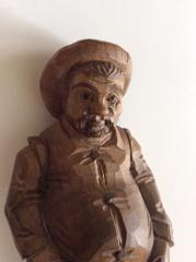 OURO Artesania Sancho Panza Carved Wood Figure 8