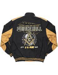Prince Hall Fraternity Race Jacket Freemason Prince Hall Twill...