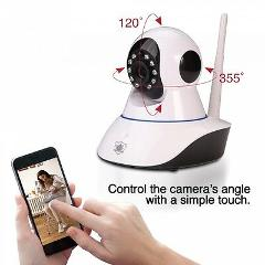 Streetwise IP Wireless Camera w/ Pan & Tilt Nanny Cam Phone Ap...