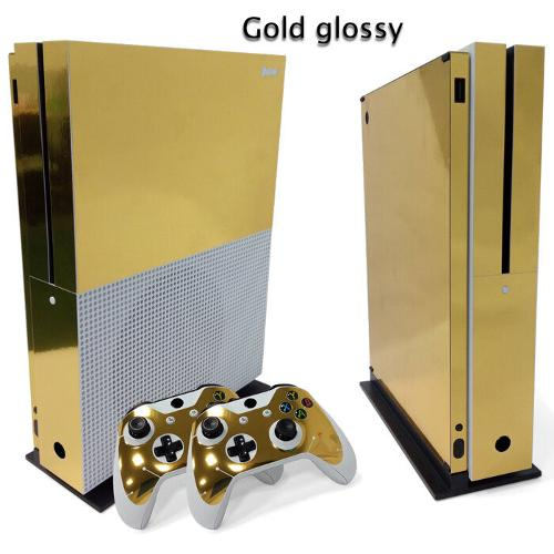 5% Off on For Xbox One S Gold Glossy Console & 2 ...