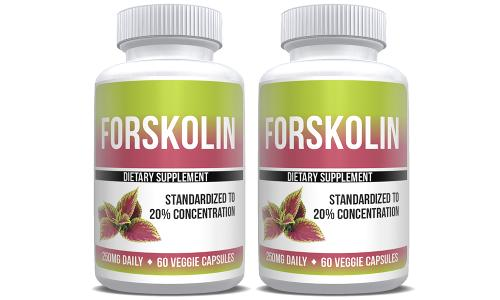 Forskolin Extract Pure Weight Loss 2X Bottles