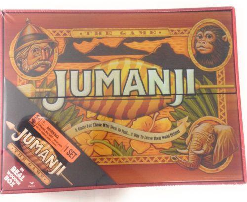 Wood Jumanji Board Game Wooden Box Cardinal Edition Free Gift Wrapping Available