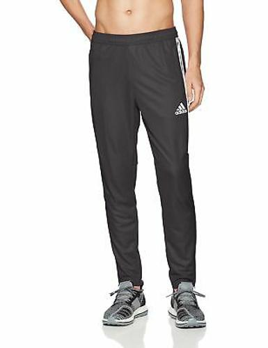 adidas Men's Soccer Tiro 17 Pants X-Large Black/White/White FAST SHIP