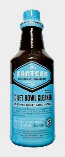 Santeen TOILET BOWL CLEANER 32 oz. Dissolves Rust Lime Scale Humidifier 00100