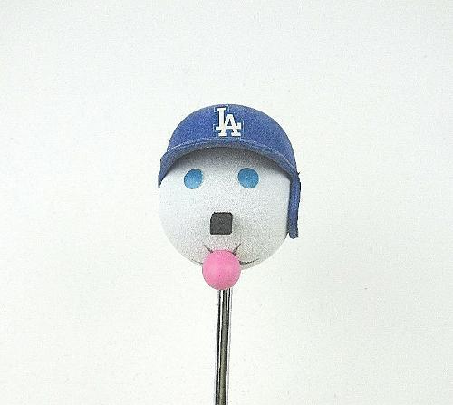 Los Angeles Dodgers Helmet Jack in The Box Restaurant Antenna Ball