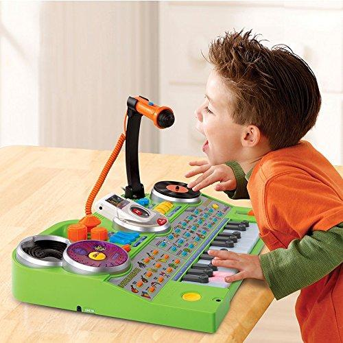 Kids,Toddler Musical Developmental Toy KidiJamz Record and Learn Studio w Mic