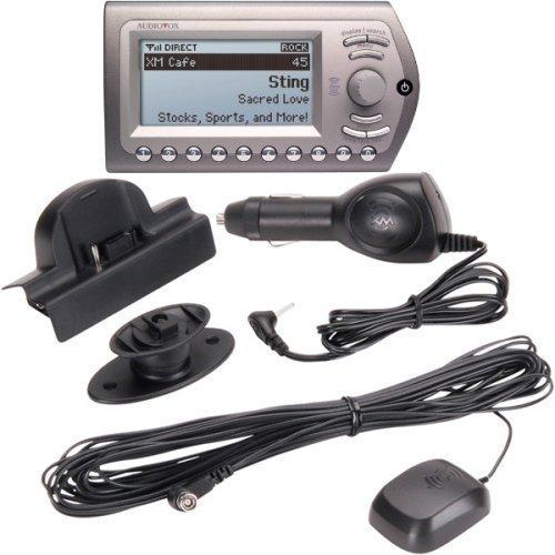 Audiovox Express XM Radio Receiver And Car Kit Xpress(136