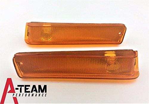 A-Team Performance Front Turn Signal Lights Compatible With 73 74 75 76 77 78 79 FORD F-150 F150 Truck 78 79 Bronco