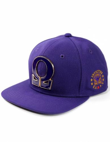 OMEGA PSI PHI FRATERNITY BASEBALL CAP Q-DOG SNAP BACK BASEBALL CAP 1911
